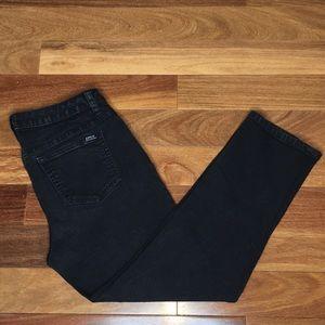Jennifer. Lopez Black Denim Capri Jeans